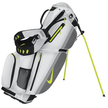 Nike Air Sport Carry Golf Bag White/Venom/Black