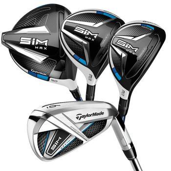 TaylorMade SIM Max Men's Golf Package Set