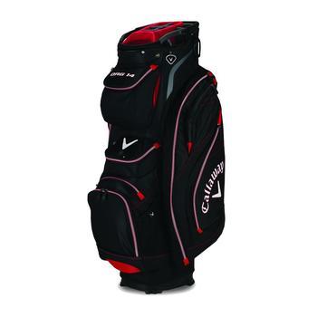 Callaway Golf Org 14 Cart Bag 2015 Black/Red/Charcoal