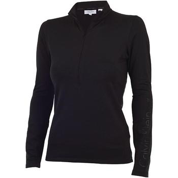 Calvin Klein Ladies High Performance Baselayer Top - Black  (D7)