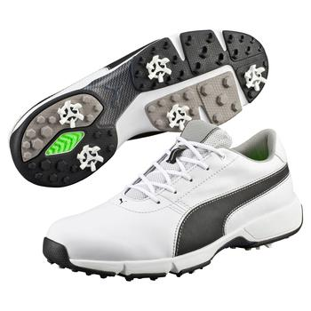 Puma  IGNITE Drive Golf Shoes  White  Black UK 7