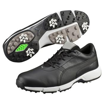 Puma IGNITE Drive Golf Shoes  Black  White UK 7