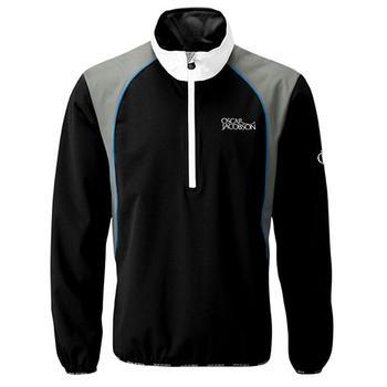 Oscar Jacobson Milford II Tour WindShirt - Black/grey