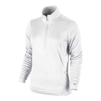 Nike 1/2 Zip Thermal Solid Ladies Fleece 483707-100 Size: X Small