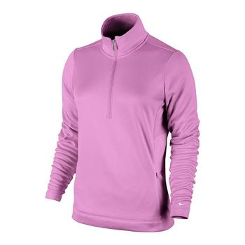 Nike 1/2 Zip Thermal Solid Ladies Fleece 483707-584 Size: X Small