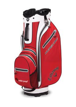 Callaway Hyper Dry Cart Bag  Red  White  Black