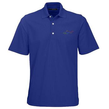 Greg Norman Protek Micro Polo Shirt  Maritime Blue Small