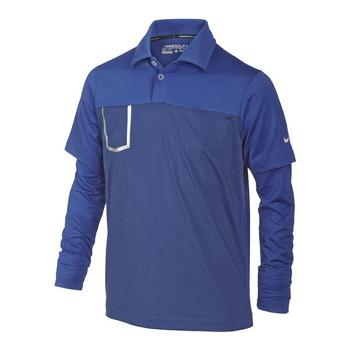 Nike Junior Long Sleeve Pocket Polo