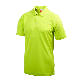 Puma Golf Mens Raglan Tech Polo Shirt