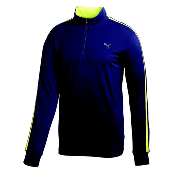Puma Golf Long Sleeve 1/4 Zip Midlayer Top