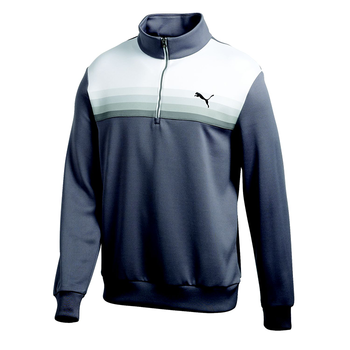 Puma Golf Graphic 1/2 Zip Popover Windshirt