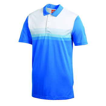 Puma Golf Mens YD Stripe Tech Polo Shirt