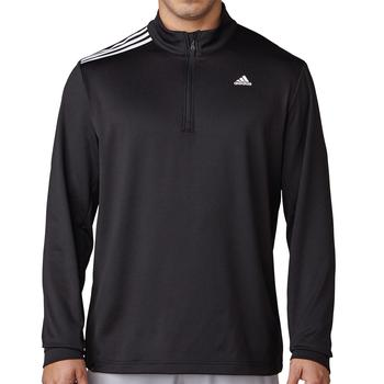 Image of 3-Stripes French Terry Sweatshirt - Black Mens Large Black
