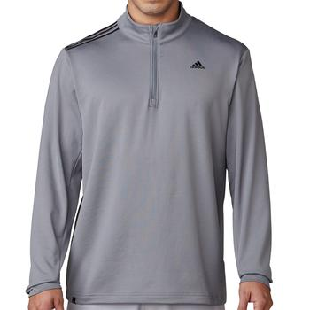 3Stripes French Terry Sweatshirt  Vista Grey Mens Small Vista Grey