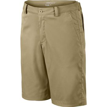 Nike Junior Flat Front Shorts  Khaki Small Age 10