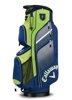 Callaway Chev Org Cart Bag 2018 – Navy/Green/Silver