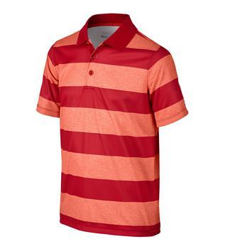 Nike Junior Bold Stripe Polo  CrimsonGym RedWhite (726972696)