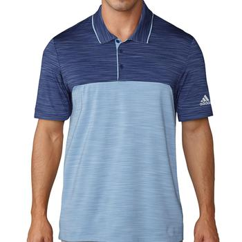 Image of Adidas Ultimate 365 Heather Polo Shirt - Indigo/Blue Medium
