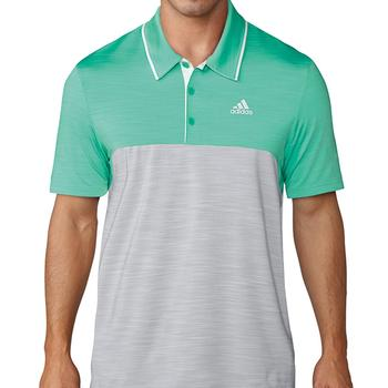 Image of Adidas Ultimate 365 Heather Polo Shirt - Green Medium