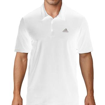 Image of Adidas Ultimate 365 Solid Polo Shirt - White Medium