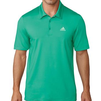Image of Adidas Ultimate 365 Solid Polo Shirt - Green Medium