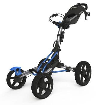 Clicgear 8.0 Golf Trolley - Silver/Blue
