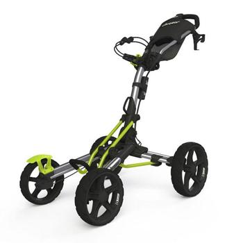 Clicgear 8.0 Golf Trolley - Silver/Lime