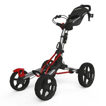 Clicgear 8.0 Golf Trolley – Silver/Red