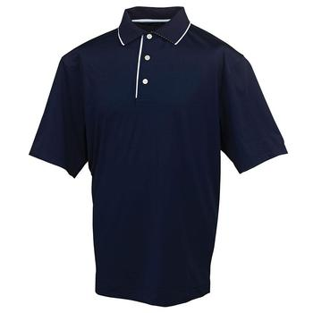 FootJoy Stretch Lisle Solid Tipping Polo Shirt - 91245 (F1)