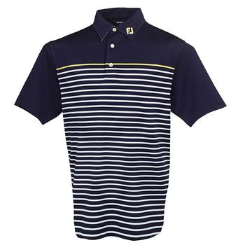 FootJoy Stretch Pique Engineered Stripe Polo Shirt - 91275 (F1)