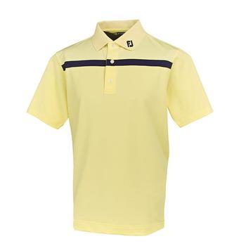 FootJoy Stretch Lisle Chest Stripe Polo Shirt - 91281 (F1)