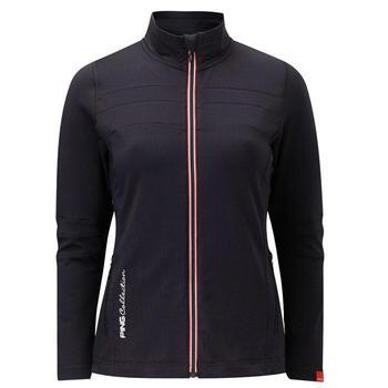 Ping Collection Ladies Valetta Fleece Golf Jacket (P93207) - Black