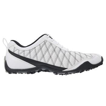 Footjoy Women's FJ SuperLites 98951, White/Black Size 6.5