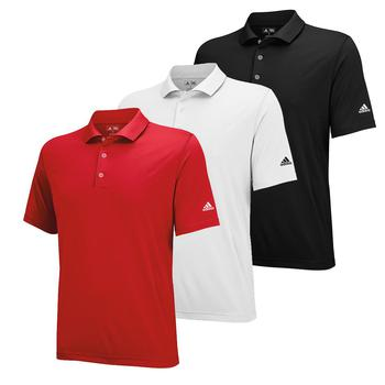 Stockists of Adidas Boys Junior Solid Jersey Polo Shirts (ADAW154)