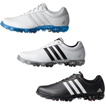 Adipure flex WD Mens UK 7.5 Wide BlackWhite
