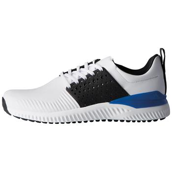 Compare retail prices of Adidas Adicross Bounce - White/Black/Blue Mens 7 to get the best deal online