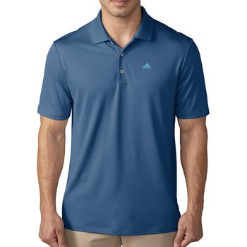 Image of Adidas Performance Polo Shirt - Core Blue Gender: Mens, Size: Small, Colour: Core Blue