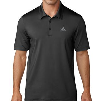 Image of Adidas Ultimate 365 Solid Polo Shirt - Black Medium