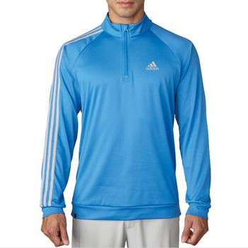 Stockists of Adidas 3 Stripe 1/4 Zip LC Pullover - Ray Blue