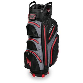 Image of BagBoy TECHNOWATER C-302 Trolley Bag - Black/Red
