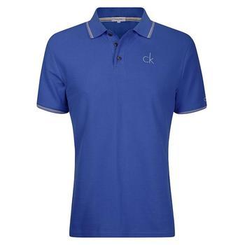 Calvin Klein Tour Golf Polo Shirt - Blue - Size: X Large (D12)