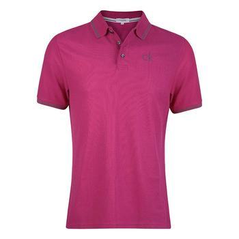 Calvin Klein Tour Golf Polo Shirt - Raspberry - Size: Small (D12)