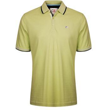 Cutter & Buck Ernest Pique Polo Shirt - Kiwi - Size: Medium (D15)