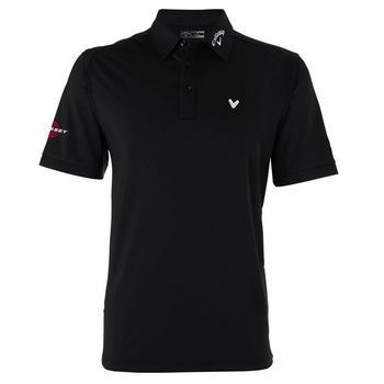 Callaway Mens Stretch Solid Polo Shirt 2014 - Black (C1)