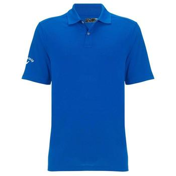 Callaway Mens Textured Solid Polo Shirt - Magnetic Blue (C2)