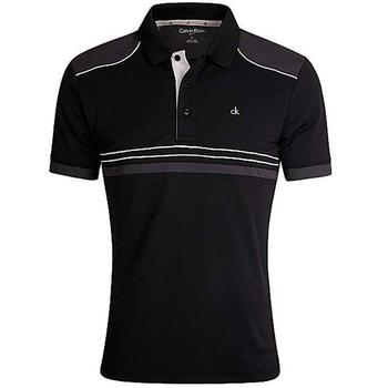 Calvin Klein Ace Tech Golf Polo - Black  (D4)