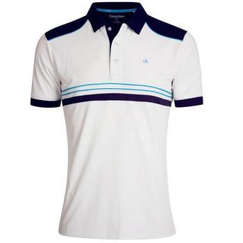 Calvin Klein Ace Tech Golf Polo - White  (D4)