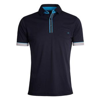 Calvin Klein Tech Pocket Golf Polo Shirt - Navy - Size: X Large (D1)