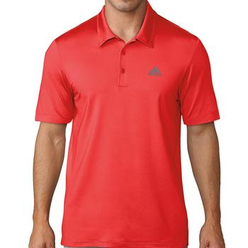 Image of Adidas Ultimate 365 Solid Polo Shirt - Red Mens Medium Red