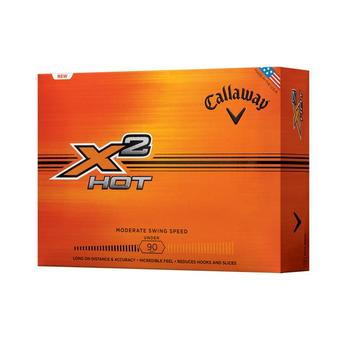 Callaway X Hot 2 Golf Balls x 1 Dozen